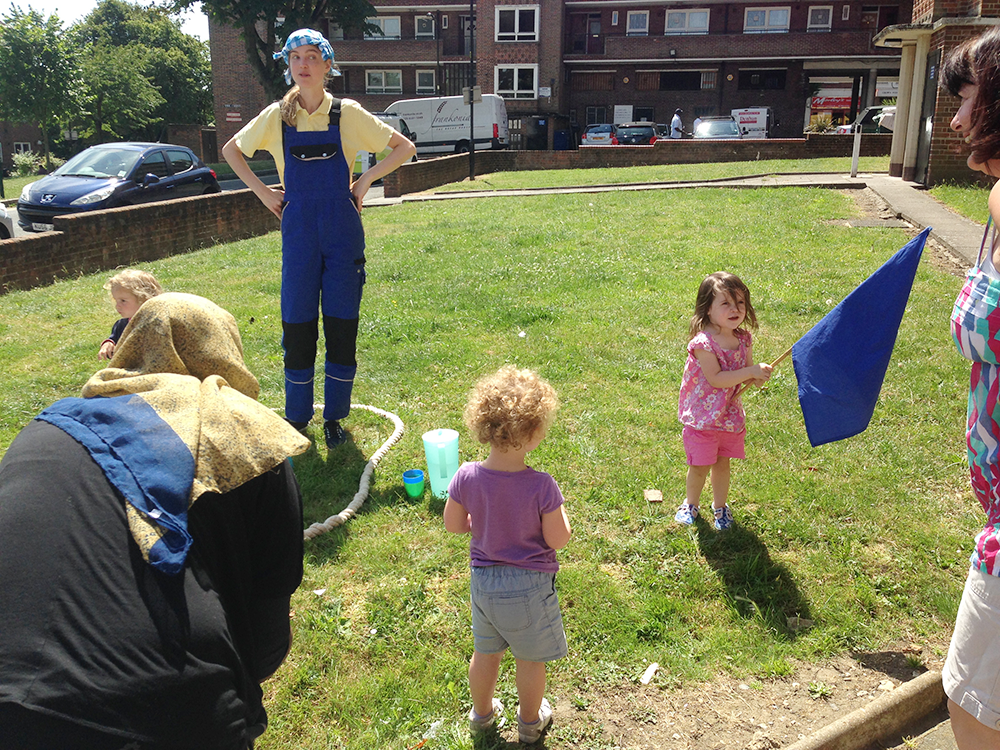 "The toilet training sailor moors up at Hook House desperate for a ""wee""! - A hub session introducing games and action songs to support a less stressful toilet training experience."